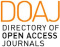 Directory of Open Acces Journals